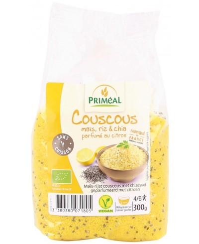 Couscous maïsrijst en chia