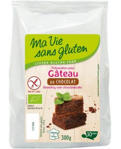 VOORBEREIDING CHOCOLADE CAKE